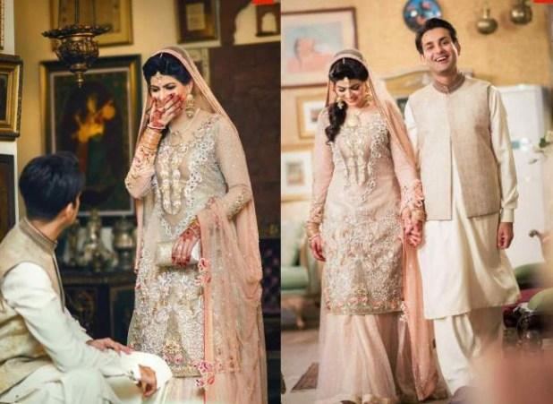 Affan Waheed Divorce – Her Beautiful Wife on Wedding