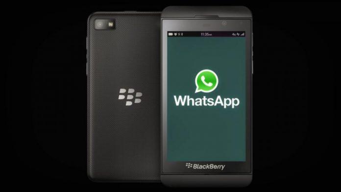 WhatsApp will no longer work on Blackberry