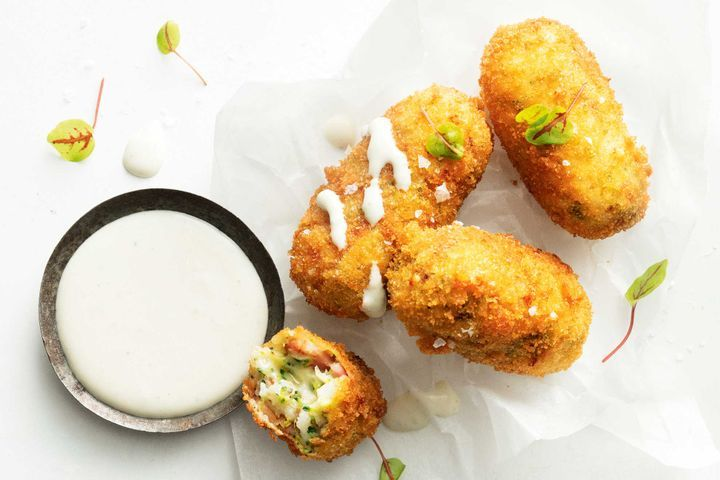 Cheese And Vegetable Croquettes Recipe